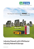 Industry Firewall with VPN Router Industry Network Storage