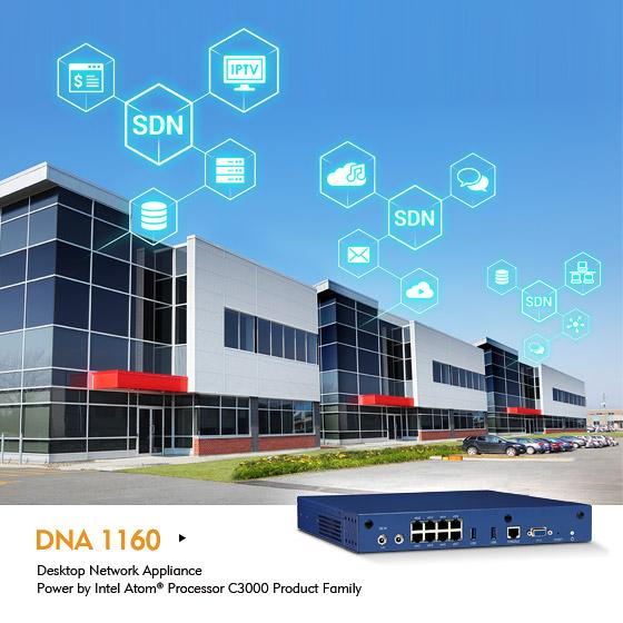 NEXCOM Desktop Network Appliance Expands NFV to the Network Edge